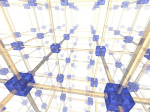 3d network illustration