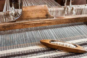Hungarian traditional homespun